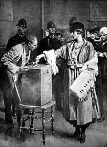 Voting in 1918