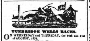 1834 Race advert