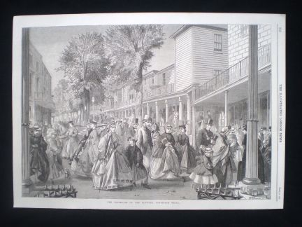 Pantiles 1864 Illustrated London News